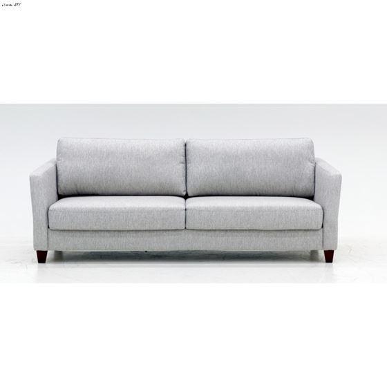 Monika King Size Sofa Sleeper Oliver 173 Light Grey