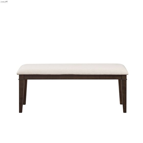 Makah Brown Dining Bench by homelegance