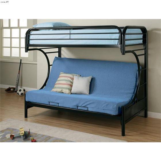 C Style Futon Bunk Bed 2253K
