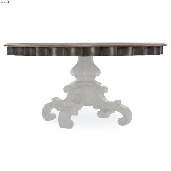 Arabella 60 Inch Round Pedestal Dining Table-4