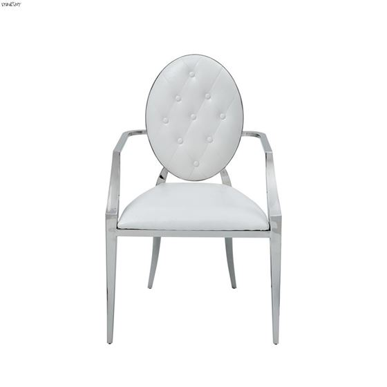 110 Dining Arm Chair Front