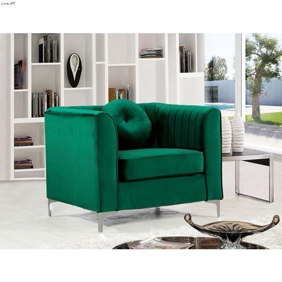 Admirable Isabelle Green Velvet Upholstered Tufted Accent Chairgreen Velvet Upholstery Forskolin Free Trial Chair Design Images Forskolin Free Trialorg