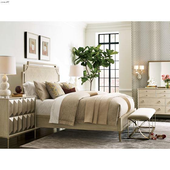 American Drew Lenox Royce King Panel Bed 3