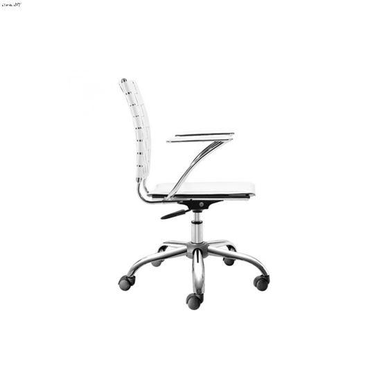 Criss Cross Office Chair 205031 White - 2