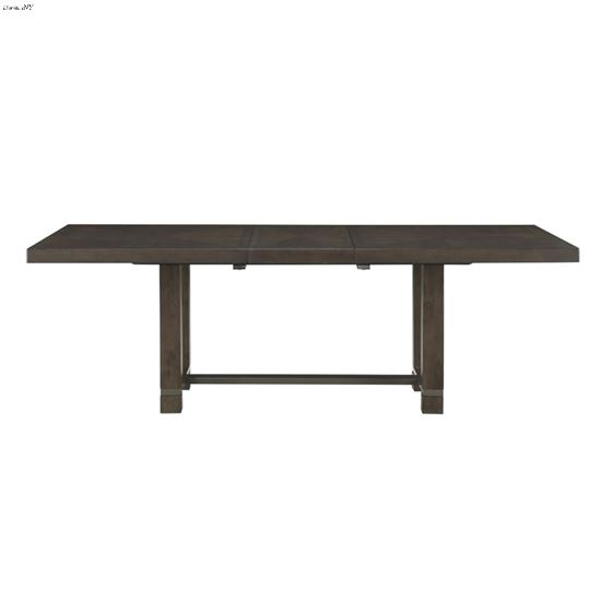 Rathdrum Double Pedestal Trestle Dining Table 5654-92 front
