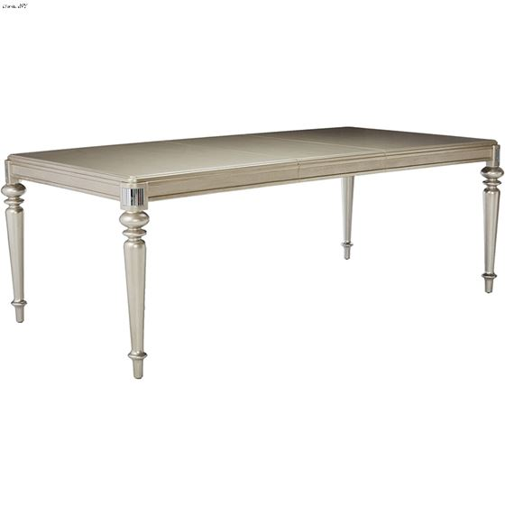 Danette Rectangular Dining Table 106471 by Coaster side