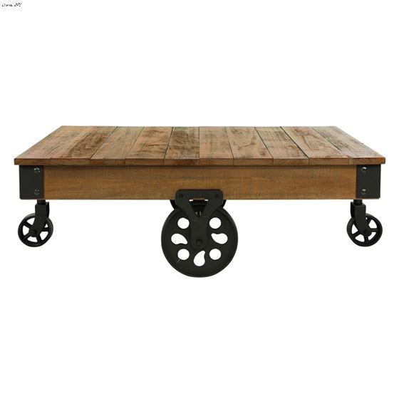 Factory Collection Industrial Style Coffee Table-2