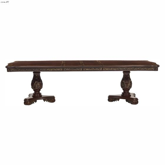 Deryn Park Double Pedestal Dining Table 2243-114 Front Open