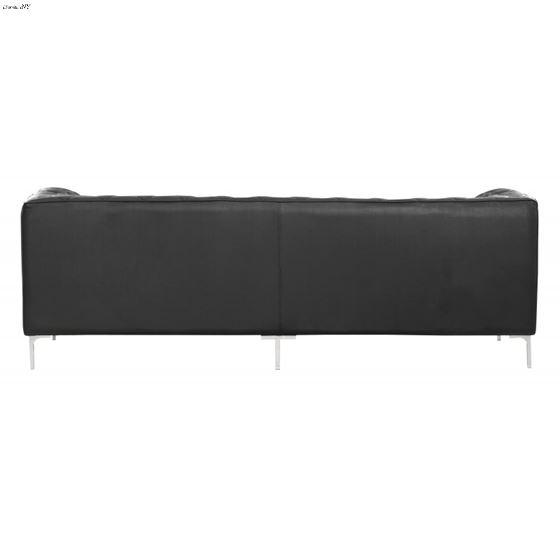 Providence Black Tufted Sofa 900274 Back