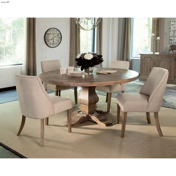 Florence 60 Inch Round Dining Table 180200 By Coaster